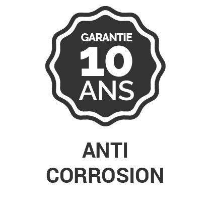 Garantie 10 ans Anti corrosion