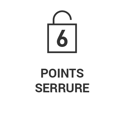 Serrure 6 points