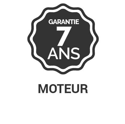 Garantie 7 ans Moteur