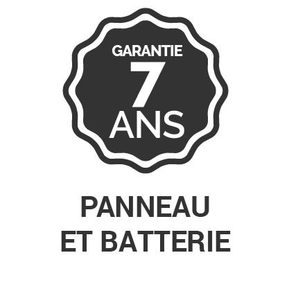 Garantie 7 ans Panneau et batterie