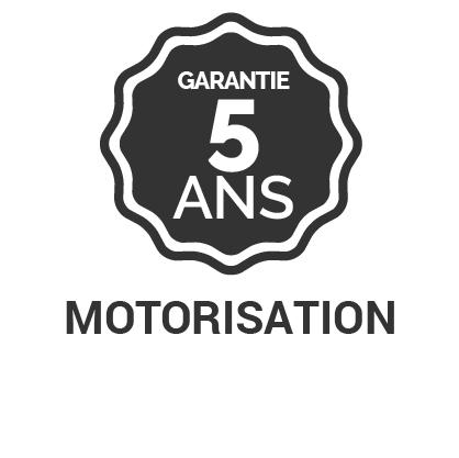 Garantie 5 ans motorisation