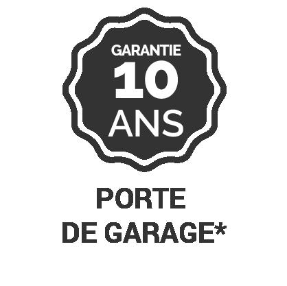 Garantie 10 ans porte de garage