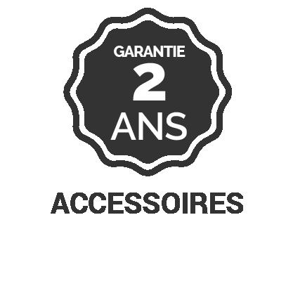 Garantie 2 ans accessoires