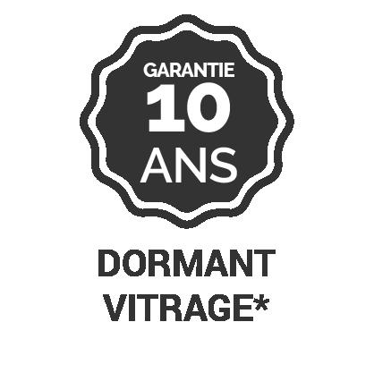Garantie 10 ans dormant vitrage*