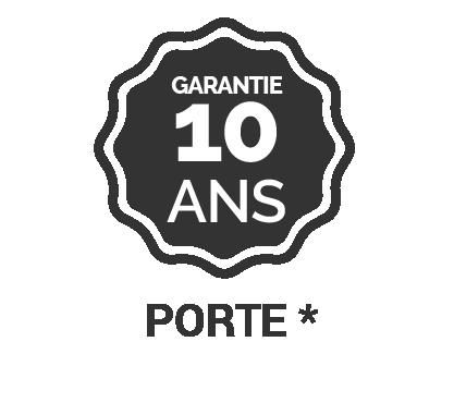 Garantie 10 ans Porte