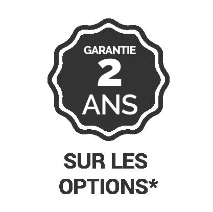 Garantie 2 ans sur les options*-belize