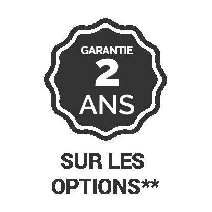 Garantie 2 ans sur les options **-panama