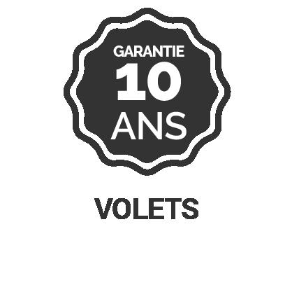 Garantie 10 ans volets